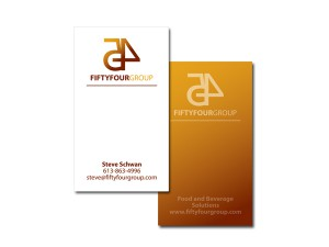 Fiftyfour Group Business Cards