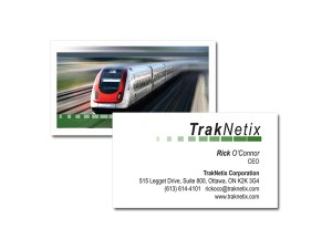 TrakNetix Business Cards