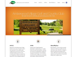 Amberwood Golf & Country Club Website