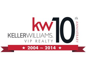 Keller Williams VIP Realty Anniversary logo