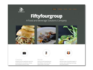 Fiftyfour Group Website