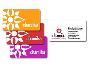 Chamika Business Cards