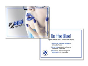 Do The Blue Postcard