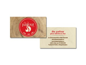 The Parlour Business Cards