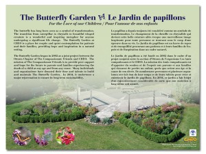 The Butterfly Garden Panel